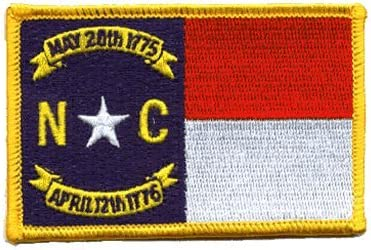 Iron on North Carolina Patch