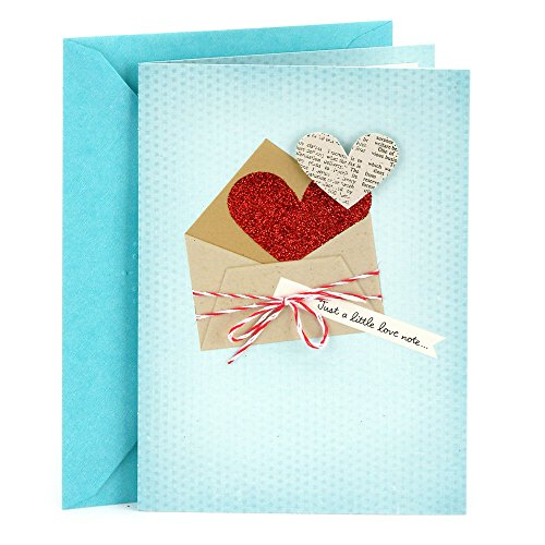 Hallmark Everyday Love Card, Romantic Birthday Card, or Anniversary Card (Love Note)