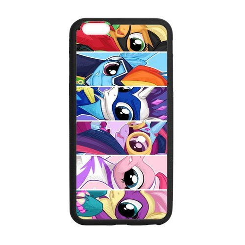TPU iPhone Case, My Little Pony iPhone 6 (4.7 inch) Cover, Custom iPhone 6 Case, Protection