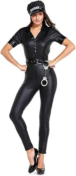WYYSYNXB - Mono de Mujer para Disfraz de policía de Halloween ...