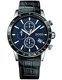 Rafale 1513391 Dark Blue / Black Leather Analog Quartz Men's Watch