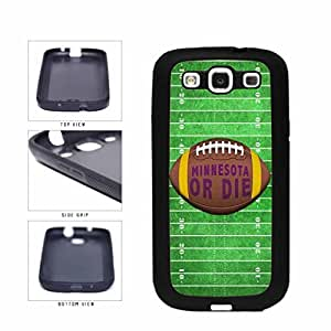 Zheng caseMinnesota or Die Football Field TPU RUBBER SILICONE Phone Case Back Cover Samsung Galaxy S3 I9300