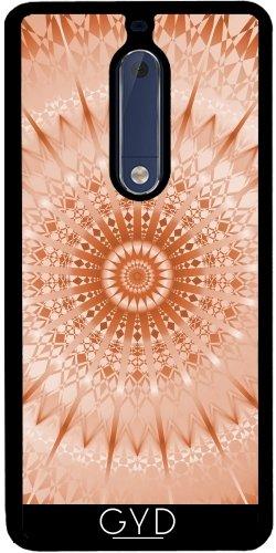 Funda de silicona para Nokia 5 - Mens Mandala Medallón De Cobre by Nina Baydur