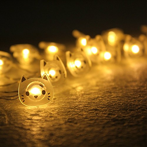 20 Led Festoon Party Lights White
