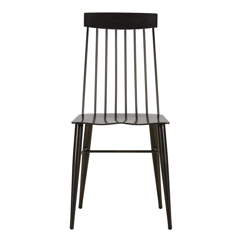 Amazon Com Ethan Allen Somers Modern Windsor Aluminum Dining Chair