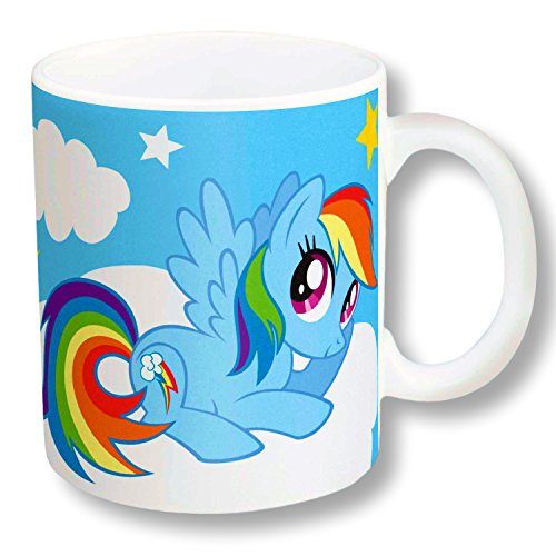 Mug Pony (Zak Designs Character Ceramic Mug 11.5 OZ (Rainbow Dash My Little Pony))
