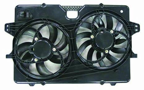 Depo 340-55014-000 Dual Fan Assembly