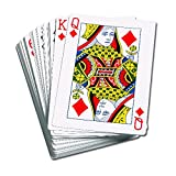 LEARNING ADVANTAGE GIANT PLAYING CARDS 4.25 X 7.75IN (Set of 12)