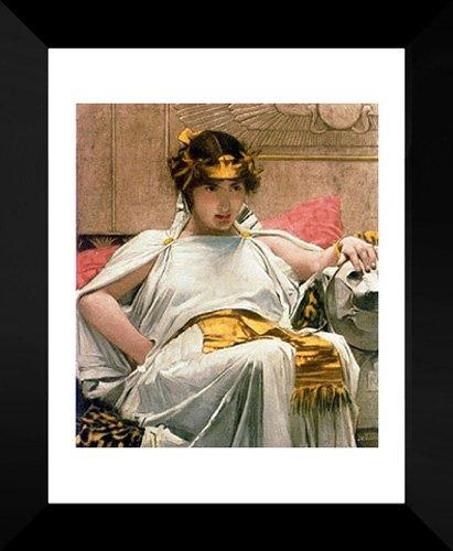 Cleopatra 20x24 Framed Art Print by Waterhouse, John William