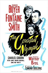 The Constant Nymph Us Poster from Top: Joan Fontaine Charles Boyer Alexis Smith 1943 Movie Poster Masterprint (24 x 36)