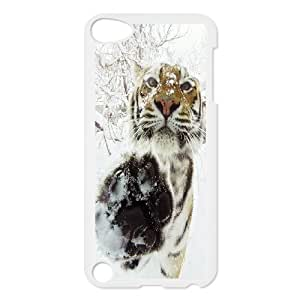 JenneySt Phone CaseAnimal Tiger FOR Ipod Touch 5 -CASE-20