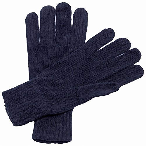 Regatta Knitted Gloves ONE Navy