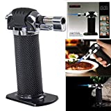 Lospu HY Refillable Micro Butane Gas Torch Lighter for Creme Brulee, Chefs Butane Torch,Culinary Blowtorch for Cooking Baking, Welding Soldering Brazing (Butane Not Included)