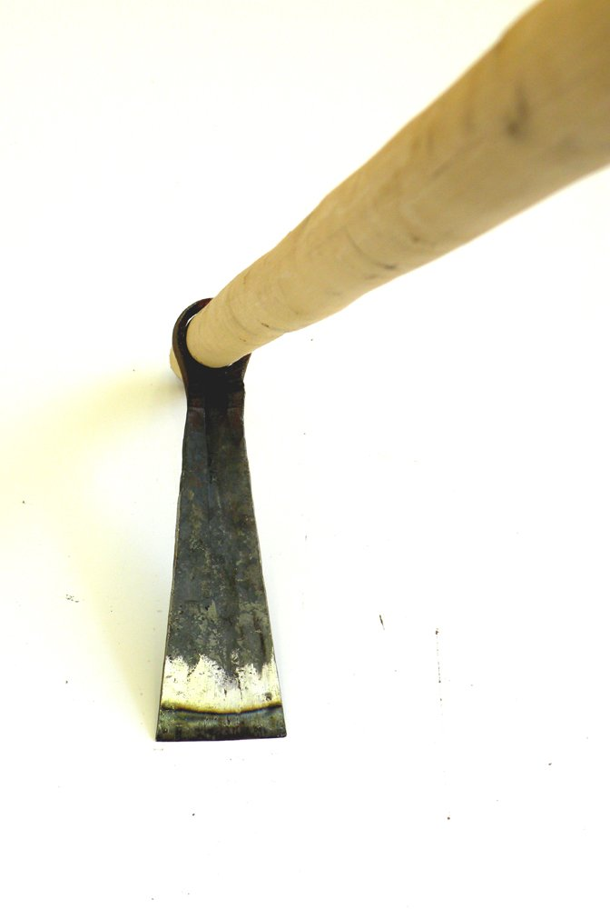 Weeding Hoe-Mattock with 47'' Long Hardwood Handle, Professional Forged Hoe with 2.75-inch by 9.25-inch Pure Carbon Steel Blade Head and 47.25-inch or Over Hardwood Handle .Simple Assembly Required !