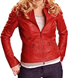 Once Upon a Time Emma Swan Red Leather Jacket (M)