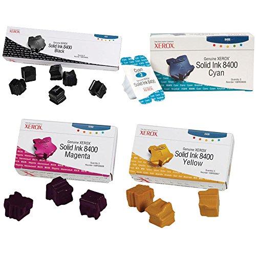 Xerox 108R00608, 108R00605, 108R00606, 108R00607 Ink Cartridge Set - Phaser 8400