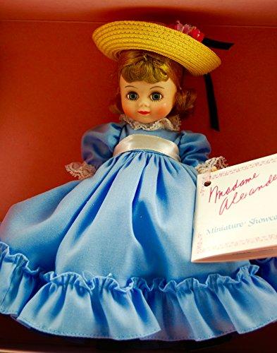 (1987 - Madame Alexander #420 - Betty Blue Doll - Miniature Showcase / Storyland Series - Original Box & Tags - OOP / MIB - Rare -)