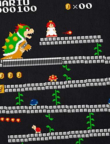 Mario Nes retro para Nerd mujer Geek Camiseta Gamer Hormiga de qXtHTxw