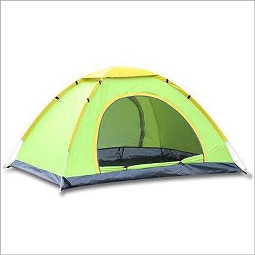 AOKASIX Tienda De Cúpula Tiendas Camping Tienda Campaña 3-4 Persona Instant Pop Up Cúpula Automática Vacaciones De Fácil Configuración Acampar Al Aire Libre Senderismo Viaje Familia,Verde: Amazon.es: Hogar
