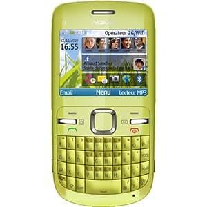 """Nokia 3-00 Verde - Smartphone (6,1 cm (2.4""""), 320 x 240 Pixeles, 0,262000M, 55 MB, 4x, Auto)"""