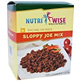 Nutriwise - Sloppy Joe Diet Entree (7 Servings/box)
