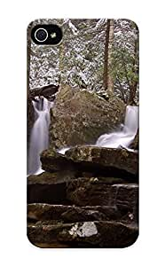 Blackducks Durable Forest Winter Rocks Waterfall Nature Back Case/ Cover For Samsung Galxy S4 I9500/I9502 For Christmas