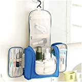 PETRICE Travel Toiletry Bag Extra Large Makeup Organiser Cosmetic Case Household Grooming Kit Storage Travel Kit Pack with Hook