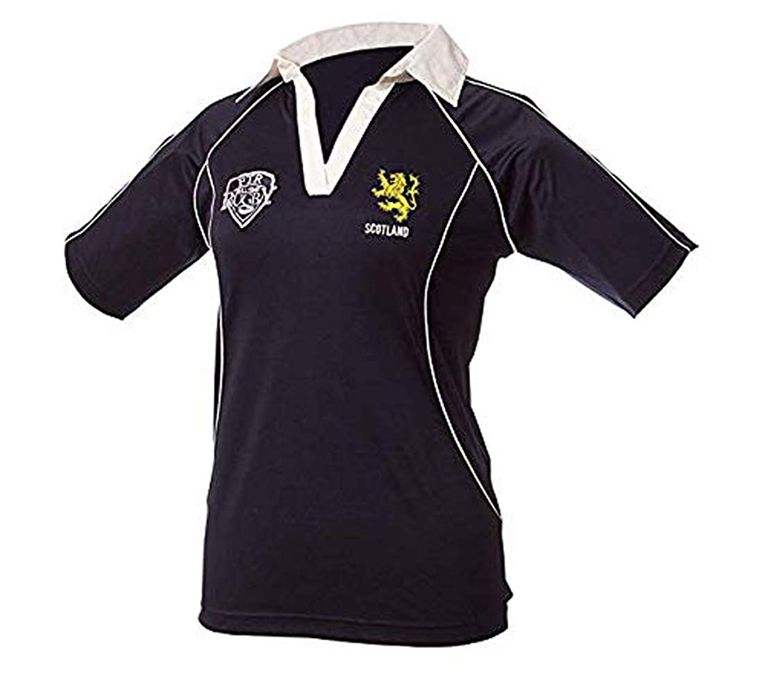 Full Time Sports Scotland Ladies Rugby Shirt: Amazon.es: Ropa y ...