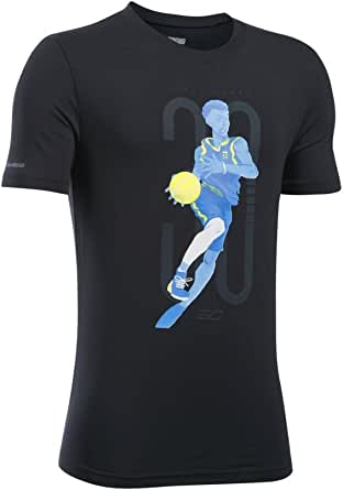 Under Armour Kids Boy's SC30 Change The Game Short Sleeve Tee (Big Kids) Black Small