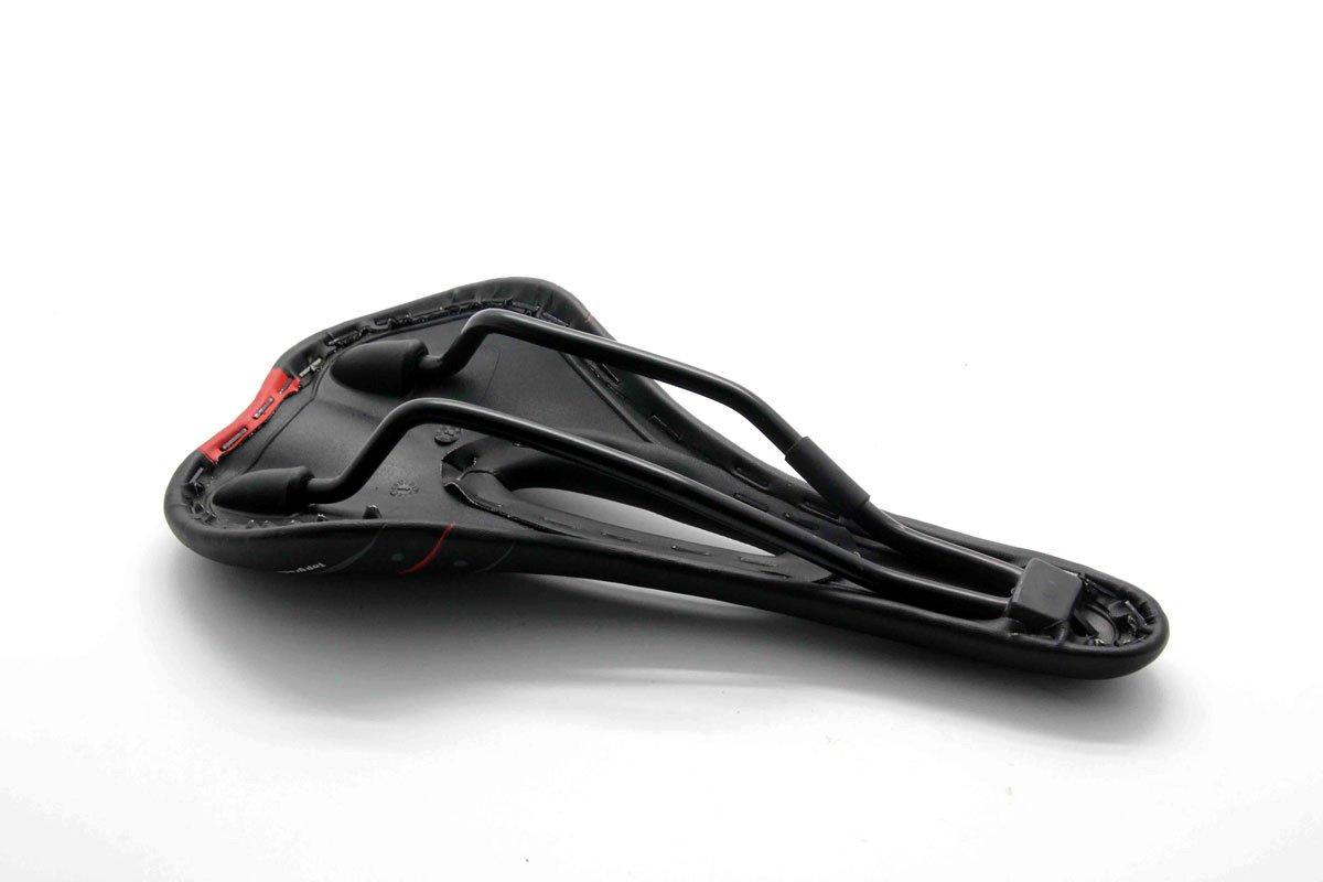 Nexify Slim belüfteten Fahrrad Sattel mit Kettenstrebe Channel Schutz - Rennsitz mit Air Flow Channel Kettenstrebe System - bessere Dämpfung und Komfort Radtouren 6f5bd7