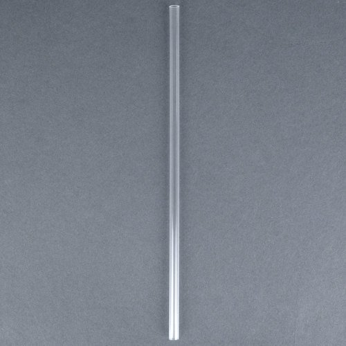 Eco-Products 7 3/4'' Unwrapped Clear Renewable and Compostable Straws - 9600 / Case by Eco Products,Inc. (Image #1)