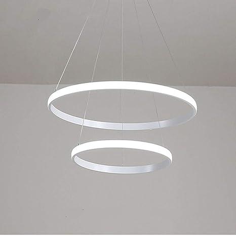 Amazon.com: LITFAD Lámpara de techo con diseño moderno LED ...