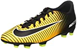 NIKE Mercurial Vortex III FG Mens Football Boots 831969 Soccer Cleats (UK 7.5 US 8.5 EU 42, Laser Orange Black White Volt 801)