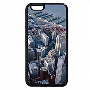 iPhone 6S / iPhone 6 Case (Black) San Francisco Aerial View