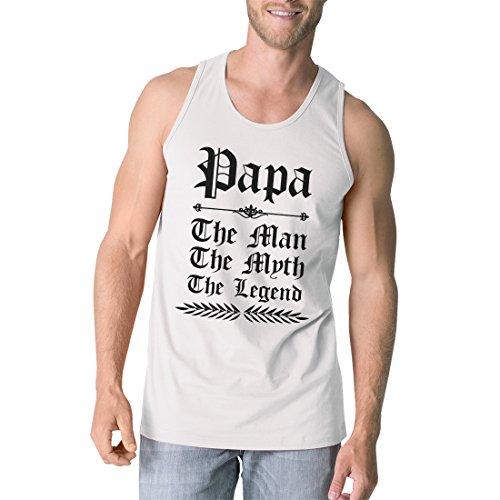 de mangas Camiseta sin blancos sin mangas estampados 365 txPqIp