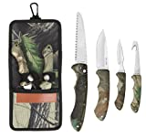 Sarge Knives SK-151 Hanging Game Kit with Gut Hook Knife Review