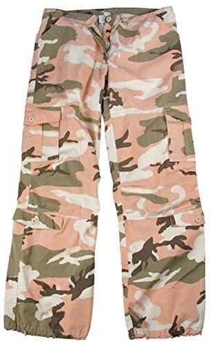 New Women's Girls Vintage Paratrooper Tactical BDU Fatigue Pants 8 Colors