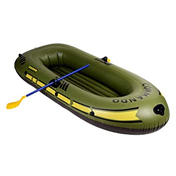 L&WB Kayak Inflable Barco De Pesca Grueso, Resistente Al Desgaste ...
