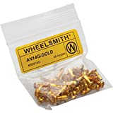 Wheelsmith Alloy Nipples (Pack of 50), Gold, 20x12mm