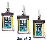 Travelon itFloats Waterproof Smart Phone/Digital Camera Pouch - Set of 3