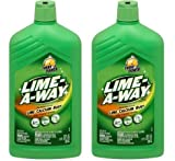 Lime-A-Way Lime, Calcium & Rust Cleaner, 28 fl oz Bottle (2)