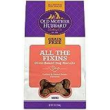 Old Mother Hubbard All The Fixins Grain Free Oven Baked Mini Dog Treats, Turkey & Sweet Potato, 16-Ounce Bag