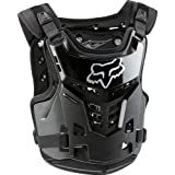 Fox Racing Proframe LC Youth Boys Roost Deflector MotoX/Off-Road/Dirt Bike Motorcycle Body Armor - Black / One Size