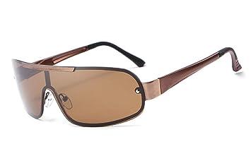 Midsy Gafas de sol con efecto espejo, gafas de sol para ...