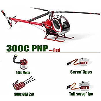 Amazon com: JCZK Hughes 300C RC Helicopter PNP Version