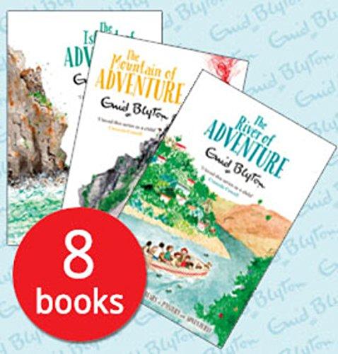 Enid Blyton Adventure Series 8 Books Collection