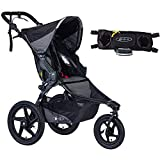 BOB Revolution Pro Jogging Stroller - Black with Handlebar Console