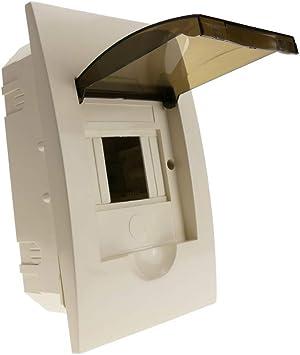 Cablematic - Caja de distribución eléctrica SPN 4M IP40 de ...
