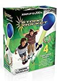 Stomp Rocket 20082 Ultra 4-Rocket Kit, Blue and Green