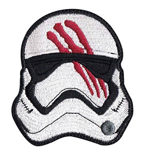Force Awakens Finn Storm Trooper Star Wars Inspired Art Sew On Glue Backing Patch